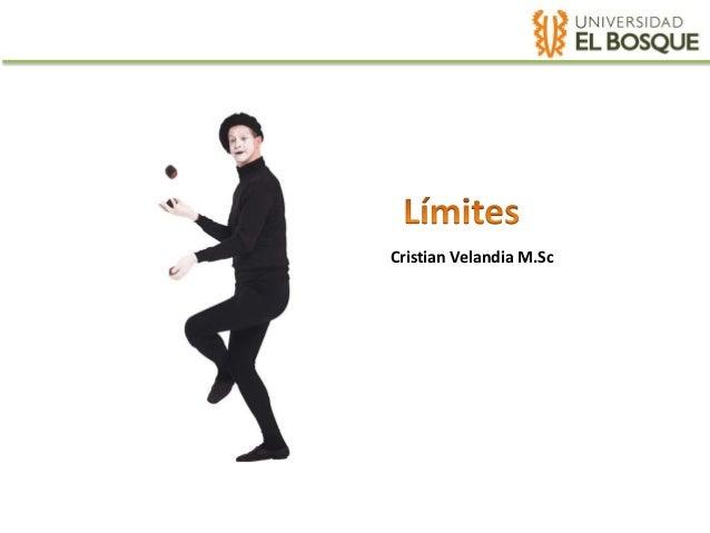Cristian Velandia M.Sc