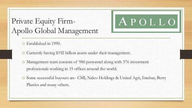 apollo private equity