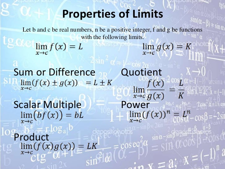 Limits and continuity powerpoint