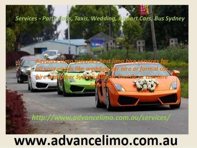 Cheap Formal Car Hire Sydney