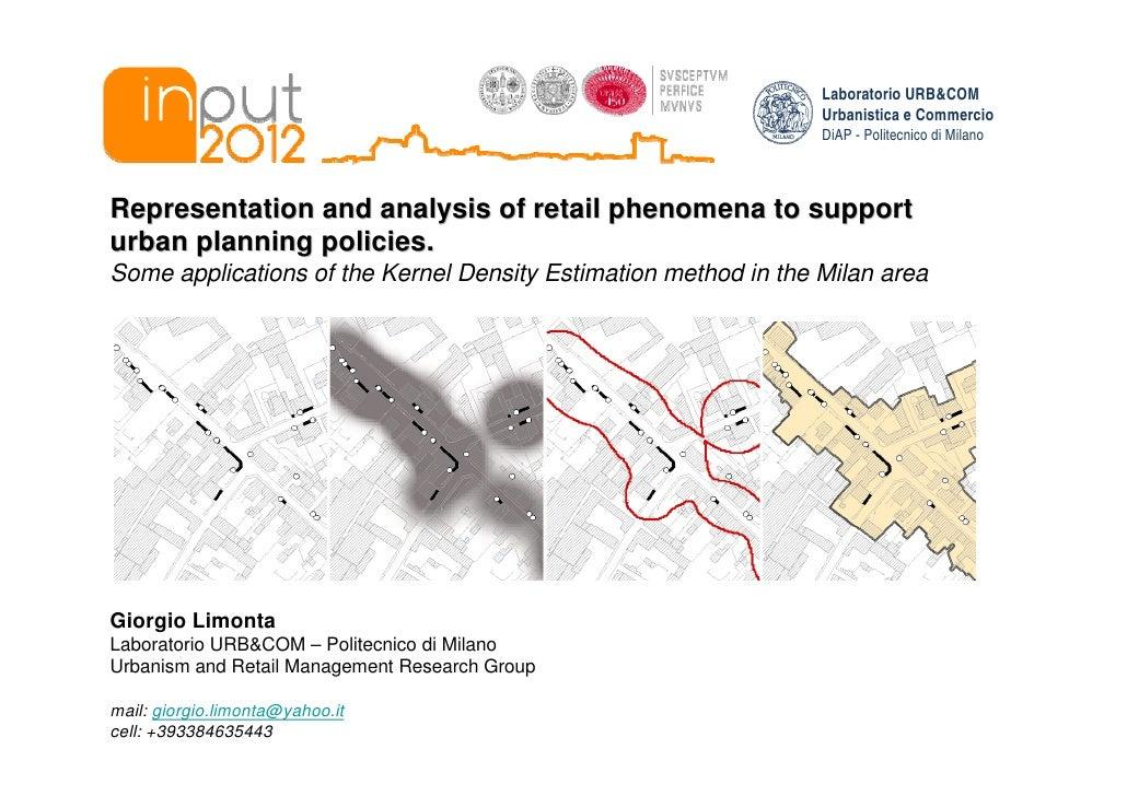 Laboratorio URB&COM                                                                 Urbanistica e Commercio               ...