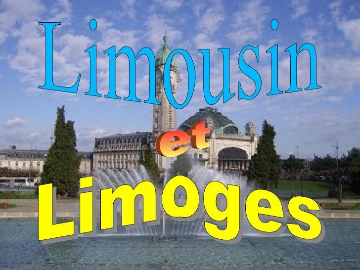 Limoges Limousin   et