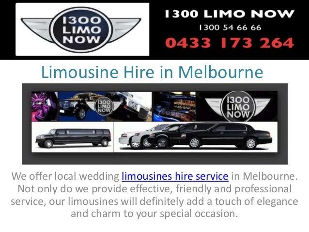 Limousine hire in melbourne