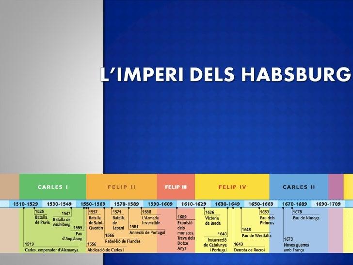  L'imperi   universal de Carles V. L'imperi   hispànic sota el regnat de Felip II. L'economia     i la societat al segl...