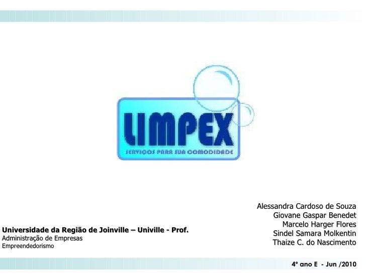 Universidade da Região de Joinville – Univille - Prof.  Administração de Empresas Empreendedorismo Alessandra Cardoso de S...