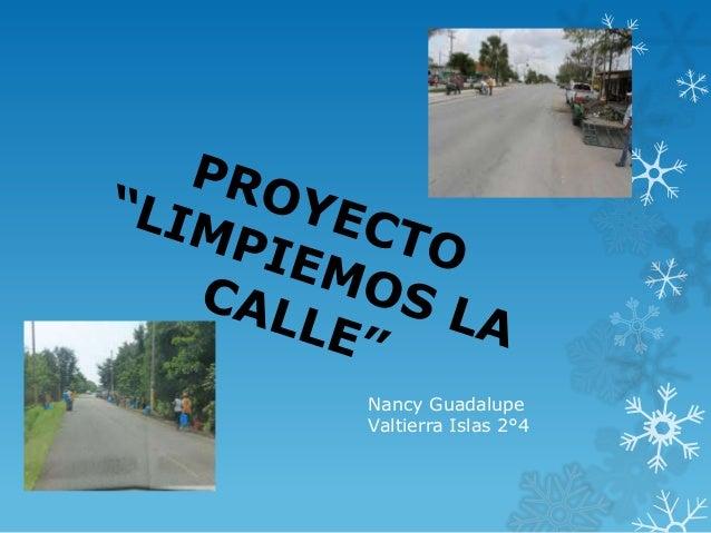 Nancy GuadalupeValtierra Islas 2°4