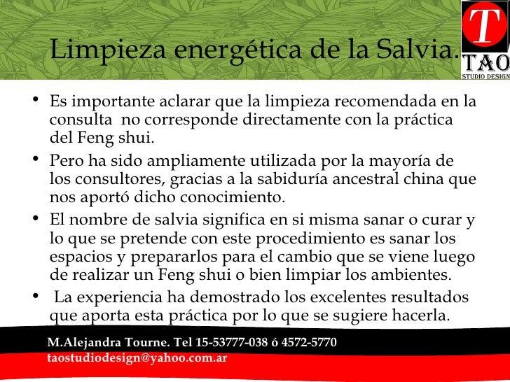 Limpieza energética de la Salvia . <ul><li>Es importante aclarar que la limpieza recomendada en la consulta  no correspond...