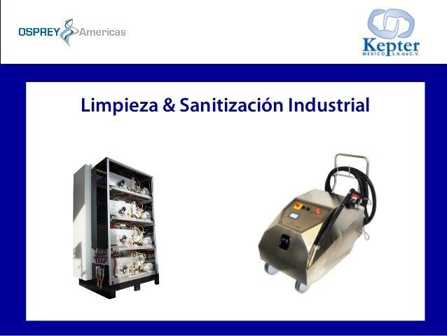 Limpieza & Sanitización Industrial