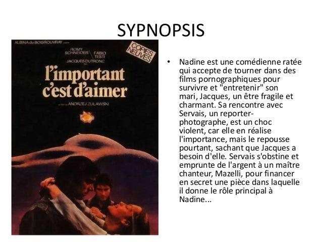 AUTOUR DU FILM •  •  •  •  Le film sort lorsque Romy Schneider est au sommet de sa gloire : cinq ans après La Piscine et q...