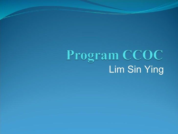 Lim Sin Ying