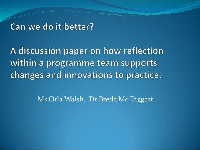 reflection essay on the discussion we Reflective essay the aim of this essay is to prove an understanding of my perception of reflection and how reflective practice impacts on the clinical environment and the learning process the essay is based on my practice and training in the cardiac ward during my foundation degree in health and social care.