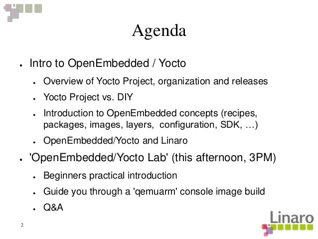 LCE13: Introduction to OpenEmbedded/Yocto Cross-Compile