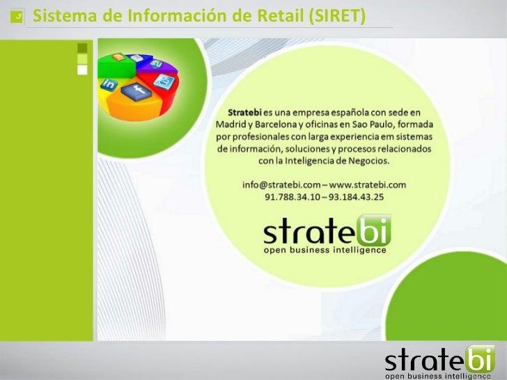 ç   Sistema de Información de Retail (SIRET)