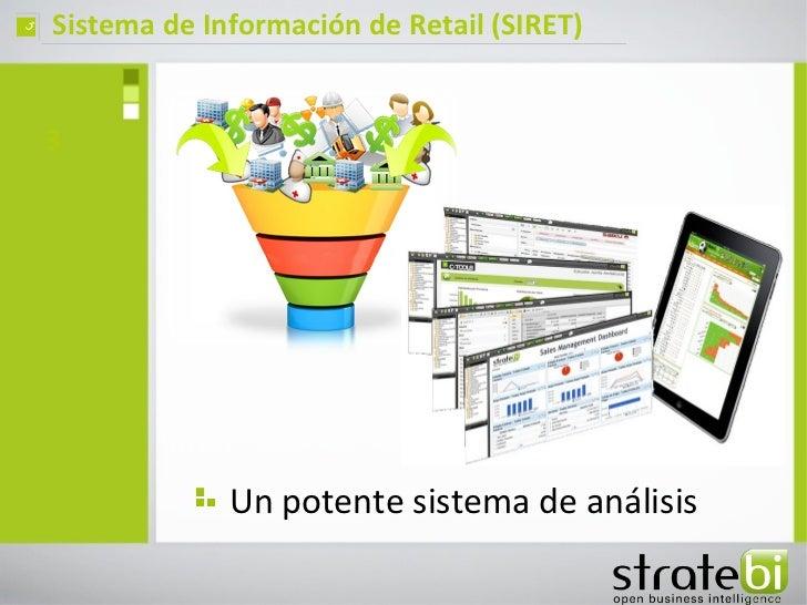 ç   Sistema de Información de Retail (SIRET)    3                 Un potente sistema de análisis