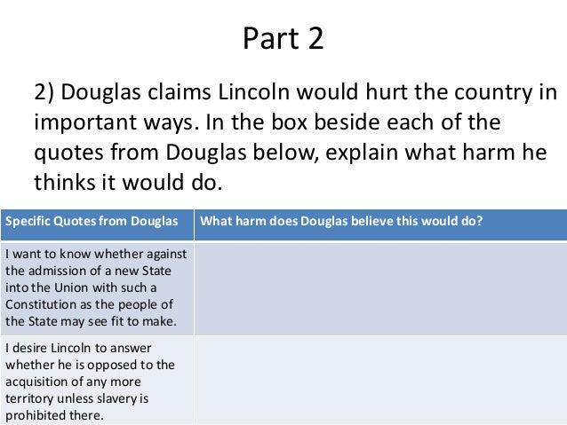 Lincoln Douglas Debates, HistoryNet