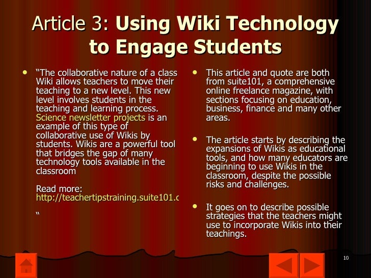 Collaborative Teaching Wiki ~ Lincoln capstick wiki s lideshow