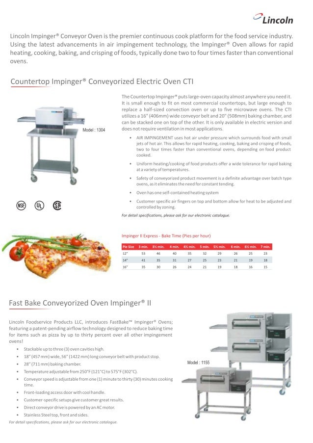 lincoln pizza ovens india call 09899332022 rh slideshare net Lincoln Impinger Conveyor Pizza Oven lincoln impinger pizza oven 1116 manual