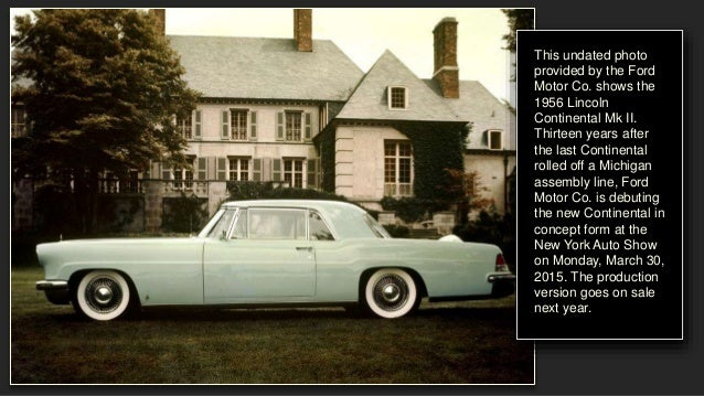 lincoln continental through the years. Black Bedroom Furniture Sets. Home Design Ideas