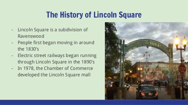 Lincoln Square Slide 2