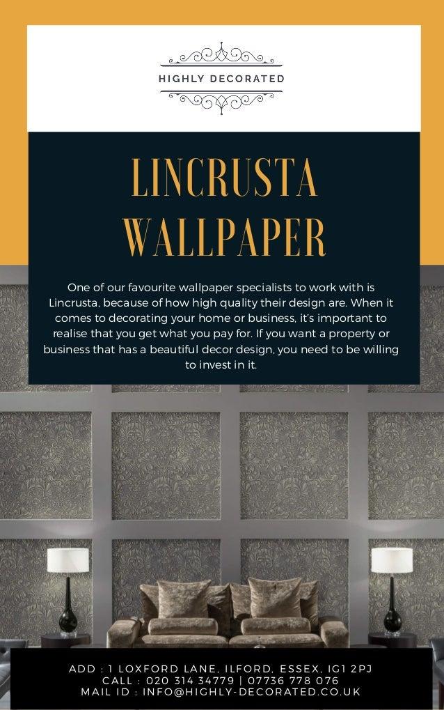 Lincrusta Wallpaper