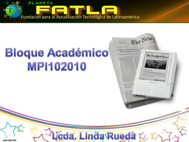 Fundación para la Actualización Tecnológica de Latinoamérica