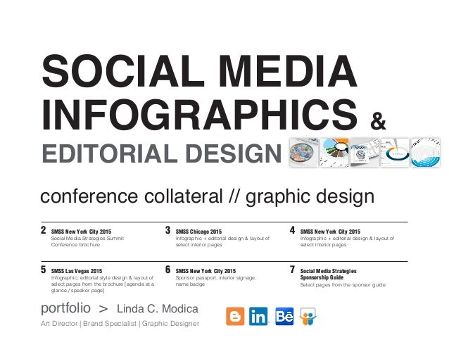 social media infographics editorial design linda c modica