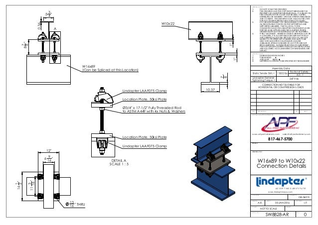 Lindapter Girder-Clamp connections portfolio