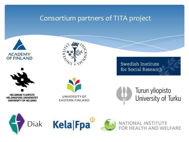 Consortium partners of TITA project