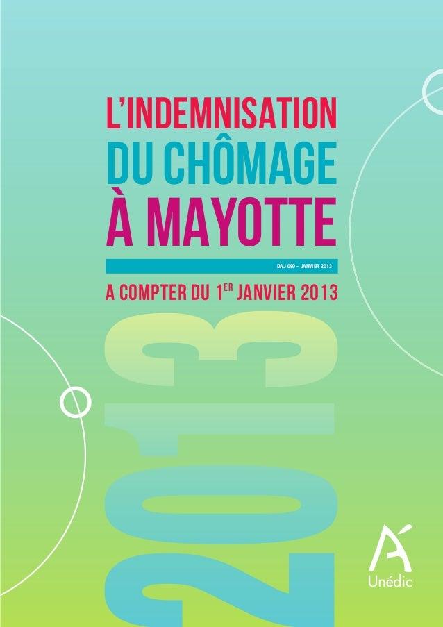 HS Mayotte:Mise en page 1 22/01/13 13:36 Page1                                  L'INDEMNISATION                           ...