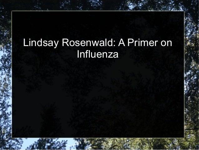 lindsay rosenwald
