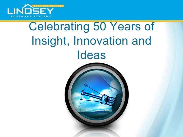 Celebrating 50 Years of Insight, Innovation and Ideas