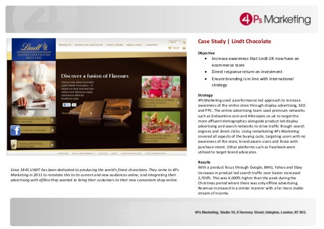 case study joy of chocalate Case study be  i wanted people to taste my chocolate and have a moment, an  experience of presence and joy during their otherwise busy lives i also wanted.