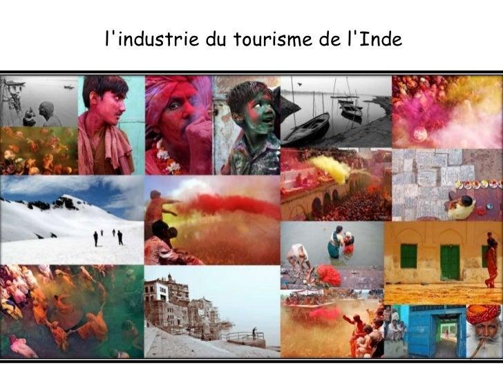 lindustrie du tourisme de lInde                                    1