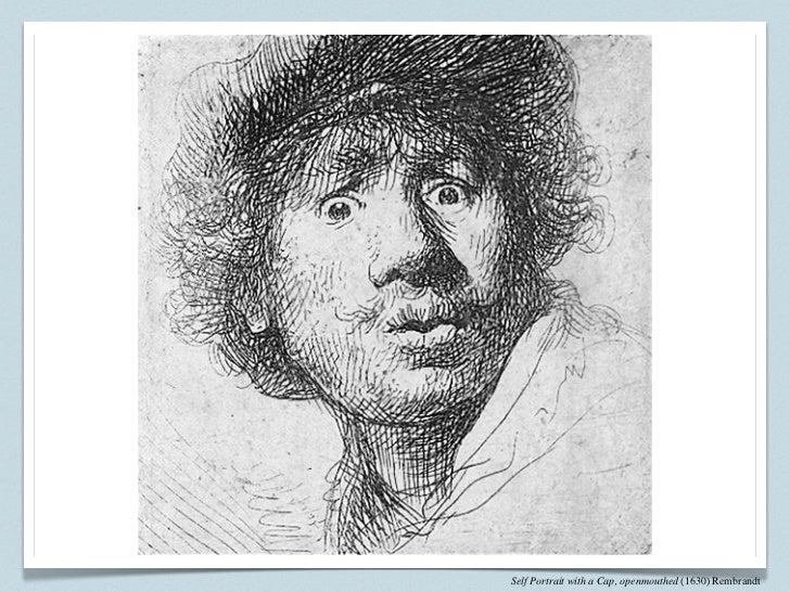 Contour line drawing self portrait : Line