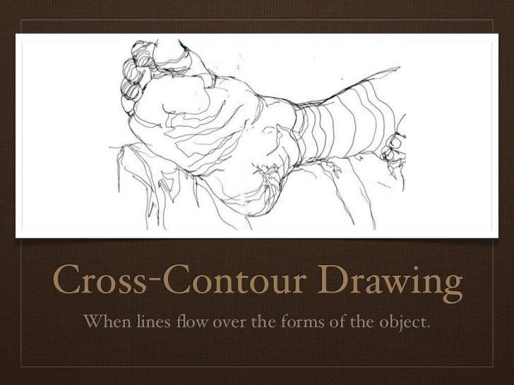 Teachertube Contour Line Drawing : Line