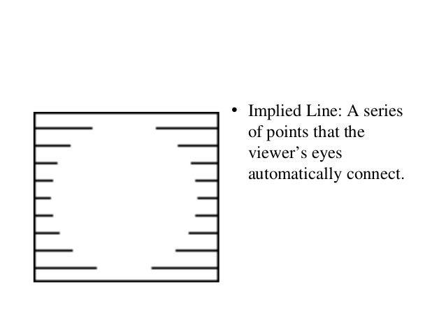 Implied Line Art Quizlet : Line