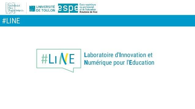 #LINE #Li E Laboratoire d'Innovation et Numérique pour l'Education