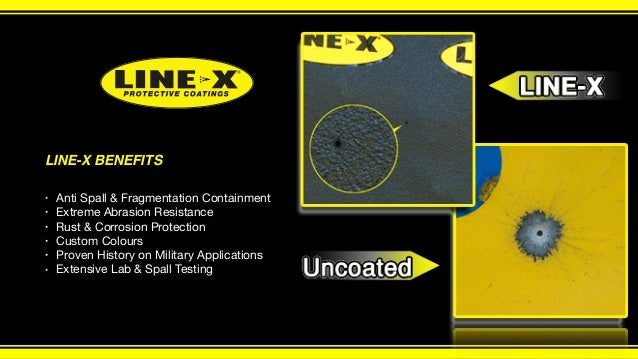 Superior Fragmentation and Spall Mitigation Coatings by LINE-X