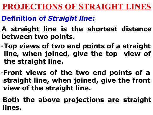 Projection of Line Slide 2