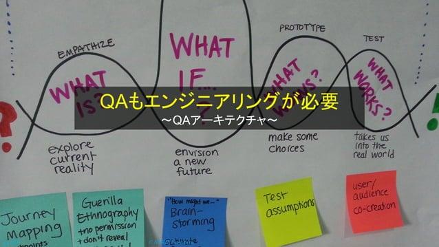 © NISHI, Yasuharup.33 QAもエンジニアリングが必要 ~QAアーキテクチャ~