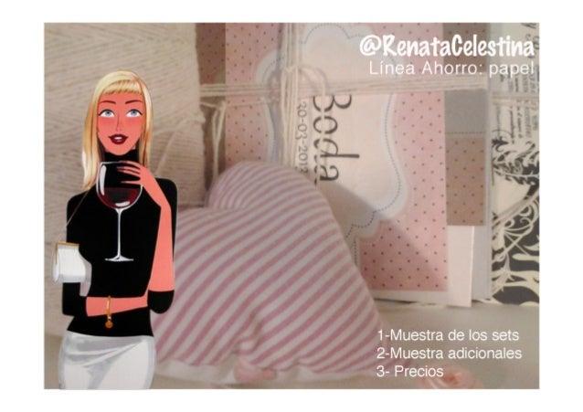 Invitaciones Linea Ahorro RenataCelestina