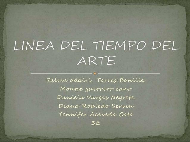Salma odairi Torres Bonilla Montse guerrero cano Daniela Vargas Negrete Diana Robledo Servin Yennifer Acevedo Coto 3E