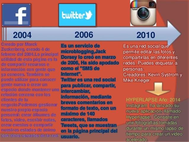 Evolución social media  Slide 3
