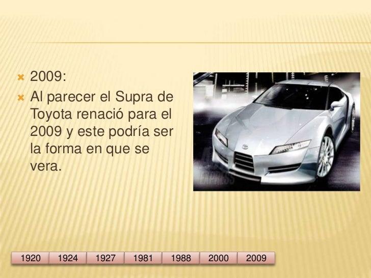 Linea De Tiempo Del Automovil