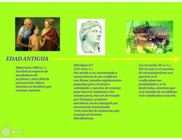 EDADAN TI GUA  Hipócrates (400 a_C. ) Escribió al respecto de mordeduras de serpiente y describió la presencia de eólicos ...
