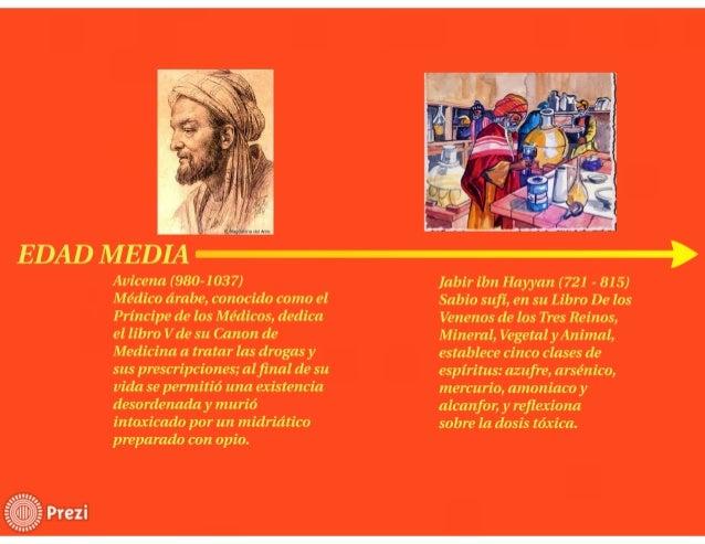 Avicena { 980-1 037)  Médico árabe,  conocido como el Príncipe de los Médicos,  dedica el libro Vde su Canon de Medicina a...
