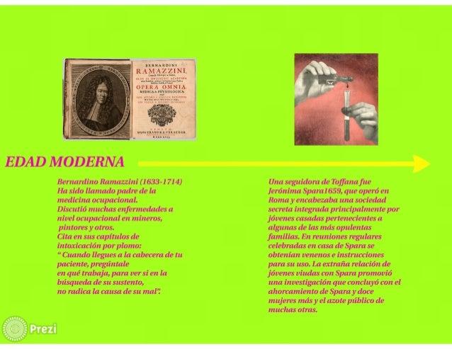 ¡mua-¡CRAMIIR  uucnxvu.      EDAD IVÍODERNA  Bernardino Ramazzini (1 633- 1 71 4) Ha sido llamado padre de la medicina ocu...