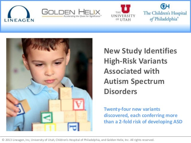 New Study Identifies High-Risk Variants Associated with Autism Spectr…