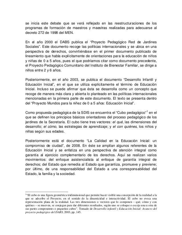 Lineamiento pedagogico curricular educacion inicial for Programa curricular de educacion inicial