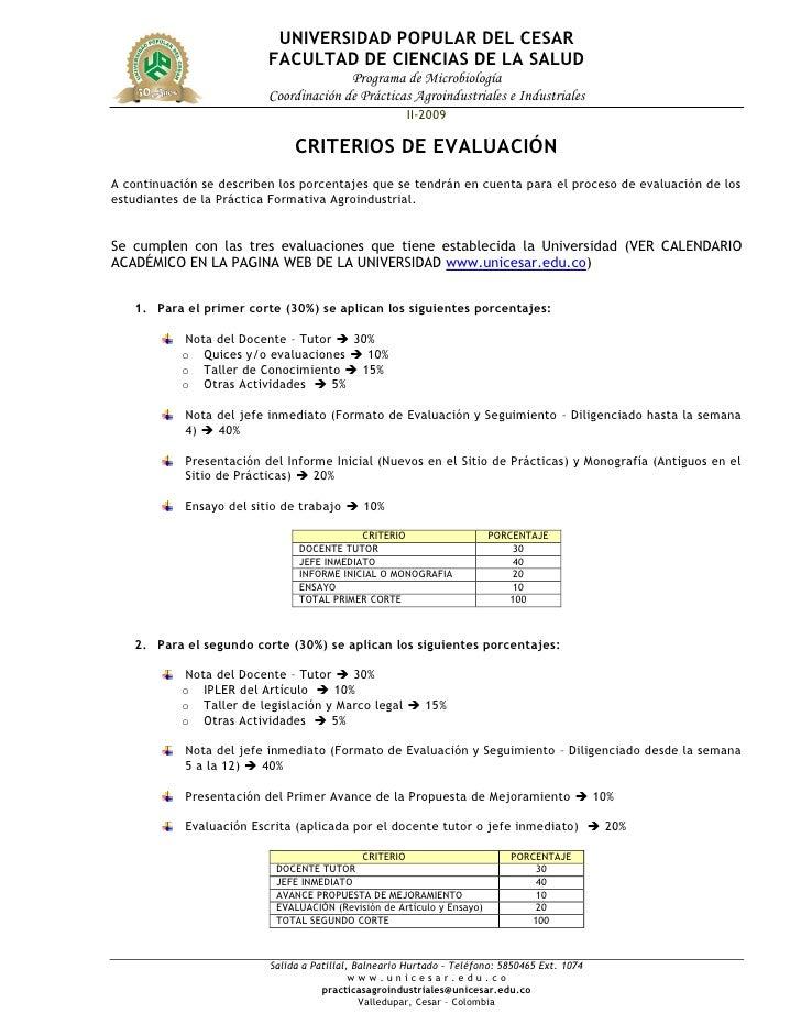 UNIVERSIDAD POPULAR DEL CESAR                           FACULTAD DE CIENCIAS DE LA SALUD                                  ...